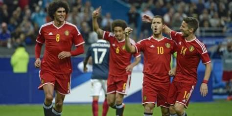2015_Belgium_Belgique_België_football_soccer_voetbal_maillot_shirt_jersey_maglia_trikot_Adidas_Euro_2016_qualifiers_qualification_2014_France_amical